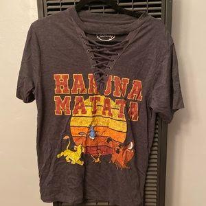 Disney Lion King Medium Gray T-shirt